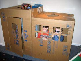 картонная коробка